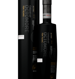 Bruichladdich Bruichladdich Octomore 10 Ten year old  Super Heavily Peated Islay Single Malt Scotch 750 ml