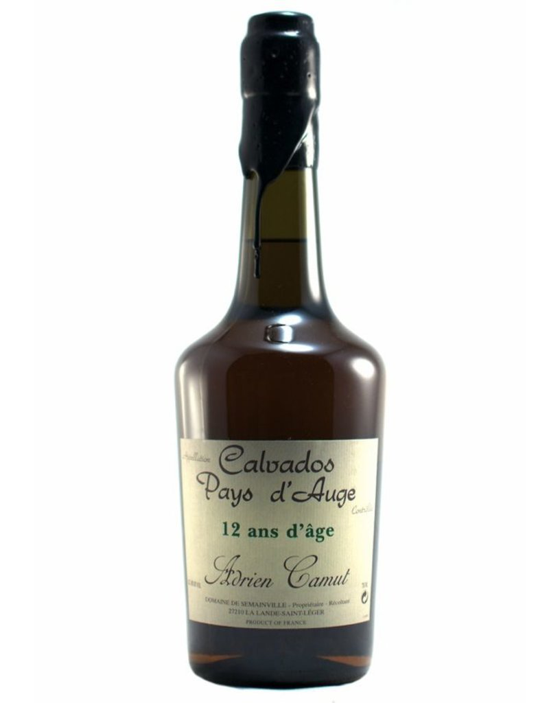 Camut Camut 12 year old Calvados Pays d'Auge  750 ml