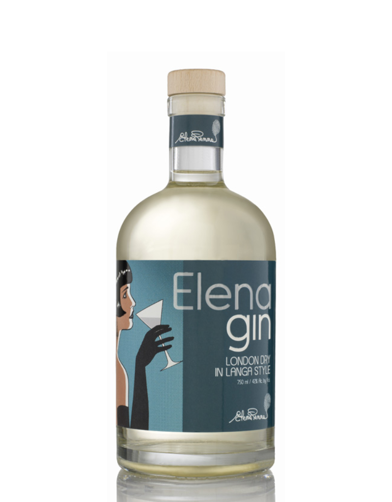 Elena London Dry in Langa Style Gin 750 ml
