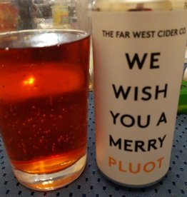 Far West Cider Co. We Wish You a Merry Pluot Cider CANS California 16 oz