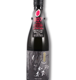 Yucho Kaze no Mori Black label Junmai Nama Genshu Sake 720 ml