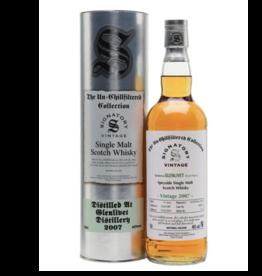 Signatory Vintage  Scotch Whisky Co. Ltd. Signatory  2007 Glenlivet Cask Strength Collection Single Malt Scotch 750 ml