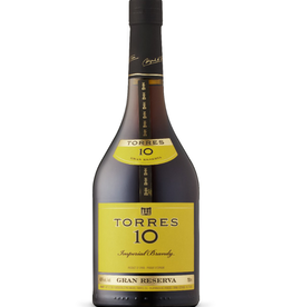 Torres Torres 10 year old Gran Reserva Brandy  750 ml