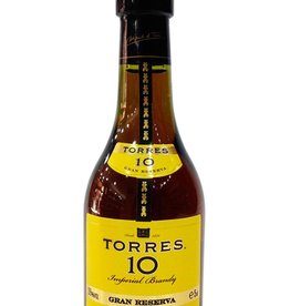Torres Torres 10 year old Gran Reserva Brandy  50 ml
