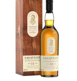 Lagavulin Lagavulin Offerman Edition 11 Year Old Islay Single Malt Scotch 750 ml
