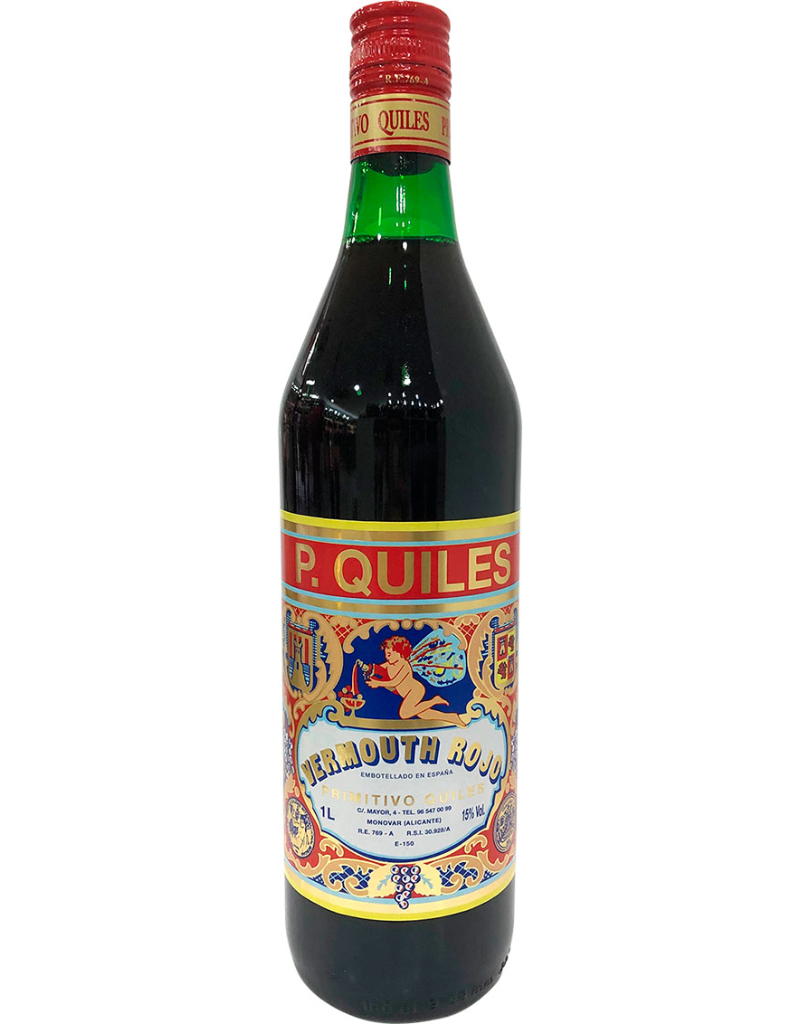 P. Quiles P. Quiles Vermouth Rojo Espana  1000 ml