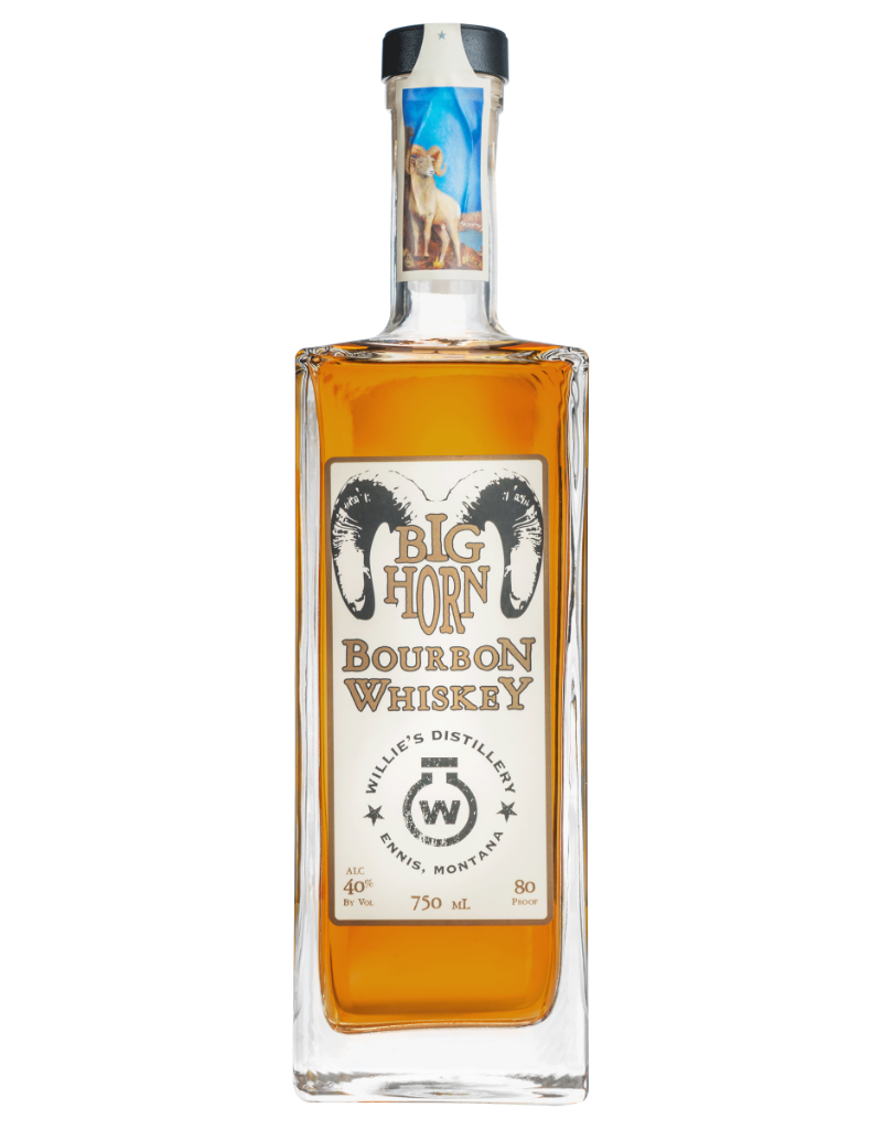 Willie's Distillery Bighorn Bourbon 750 ml