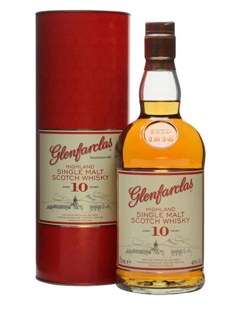 Glenfarclas Glenfarclas 10 year old Highland Single Malt Scotch  750 ml