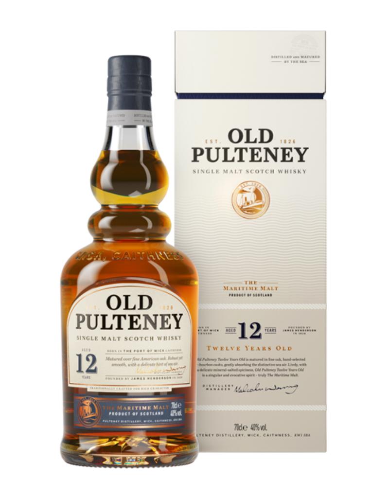 Old Pulteney 12 year old Single Malt Scotch 750 ml
