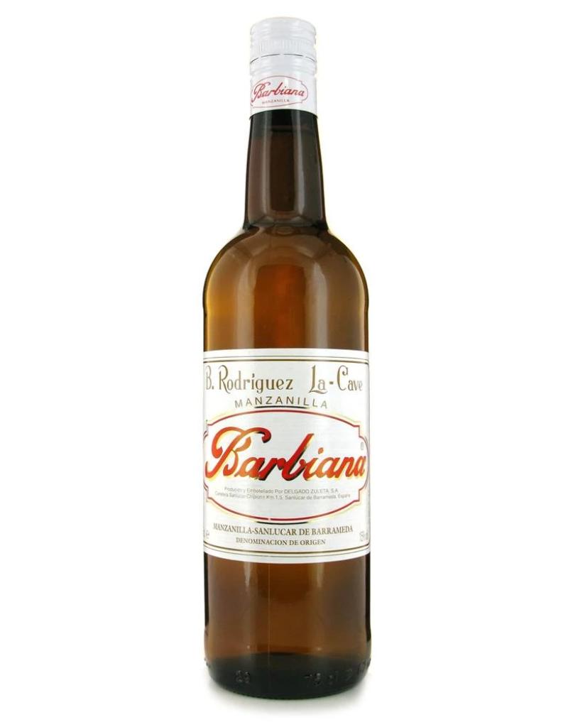 B. Rodriguez B. Rodriguez Barbiana Manzanilla Sherry 1500 ml