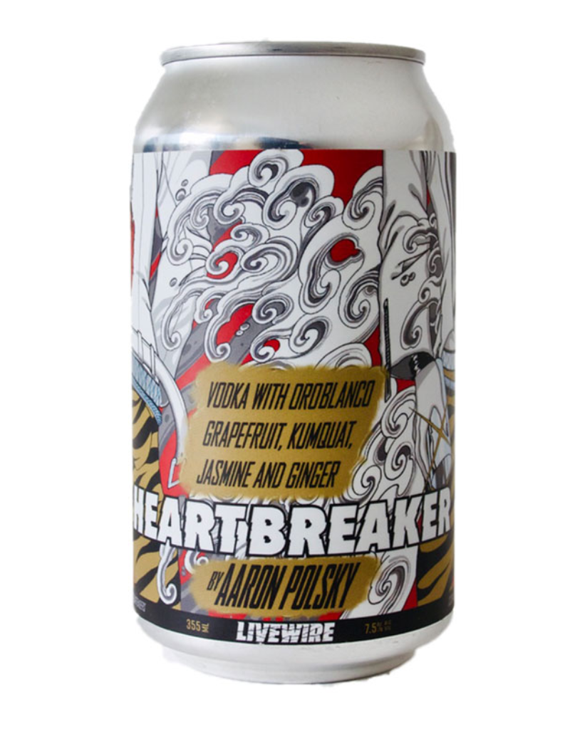 LiveWire Heartbreaker Cocktail by Aaron Polsky CAN SINGLE  12 oz
