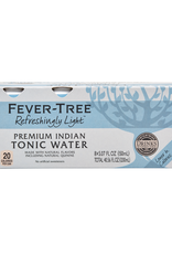 Fever Tree Fever Tree Natural Light Tonic Water CANS  8 pack 150 ml