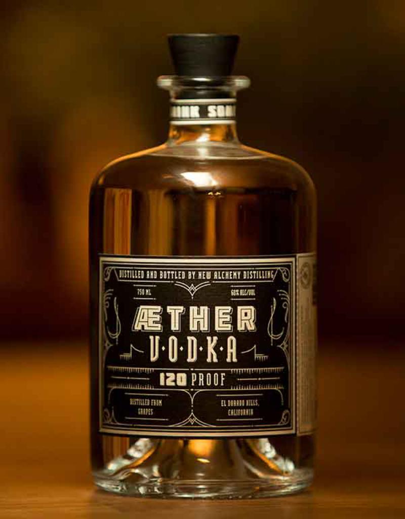 New Alchemy Distilling Aether 120 pf Vodka 750 ml