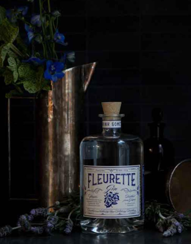 New Alchemy Distilling Fleurette Gin 750 ml