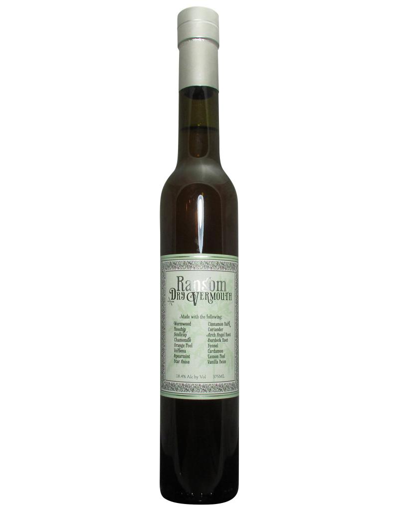 Ransom Ransom Dry Vermouth  375 ml