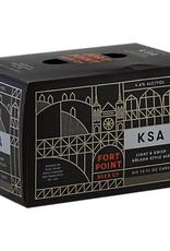 Fort Point Fort Point Beer Co. KSA Kolsch Cans  6 pack 12 oz