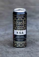 Fort Point Fort Point Beer Co. KSA Kolsch Cans  SINGLE 19.2 oz