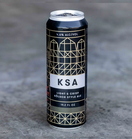 Fort Point Fort Point Beer Co. KSA Kolsch Cans  SINGLE 19.2 oz