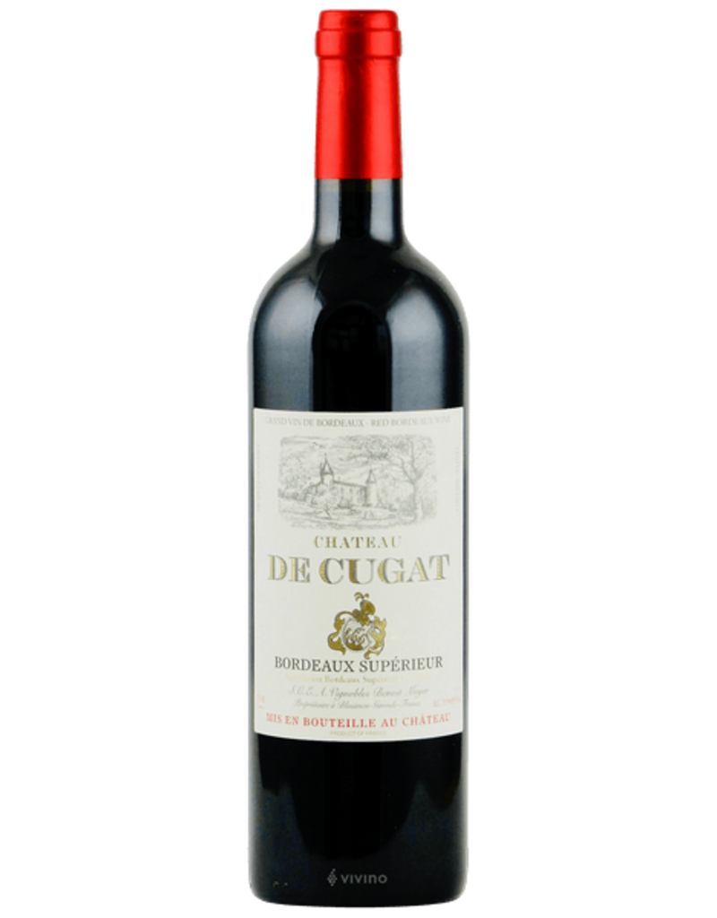 Cugat 2016 Ch. de Cugat Bordeaux Superieur Classique  750 ml