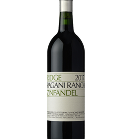 Ridge 2017 Ridge Pagani Ranch Zinfandel  750 ml