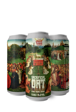 Ghost Town Brewing Sacrificial Oat Hazy IPA 4 pack 16 oz