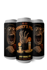Ghost Town Brewing Big Ass Monkey Paw DIPA 4 pack 16 oz