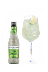 Fever Tree Fever Tree Sparkling Lime & Yuzu 4 pack 200 ml