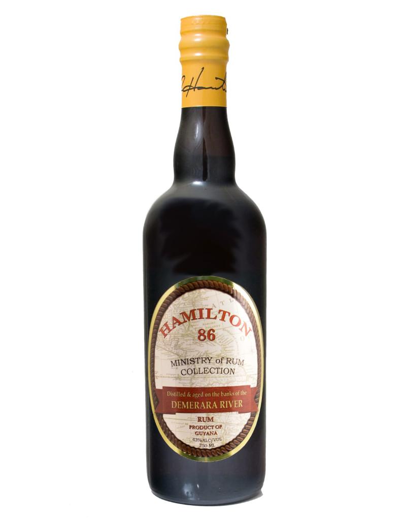 Hamilton Hamilton Demerara Rum 86 pf Guyana  1000 ml