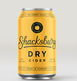 Shacksbury Shacksbury Dry Cider Cans 4 pack 12 oz