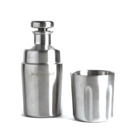 High Camp Halflight Flask + 1 Tumbler 375ml