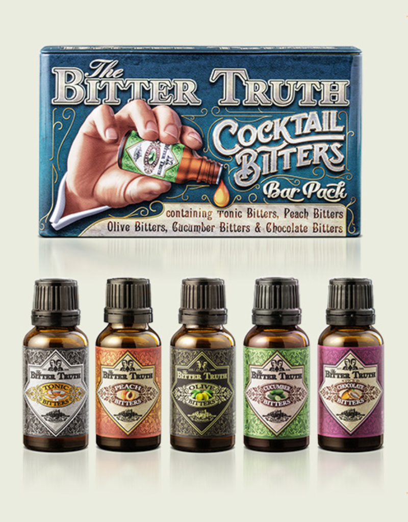 Bitter Truth Cocktail Bitters Bar Pack 5 pack 20 ml