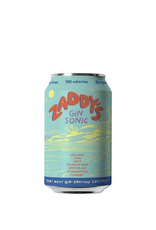 Zaddy's Gin Sonic Cocktail CAN SINGLE 12 oz