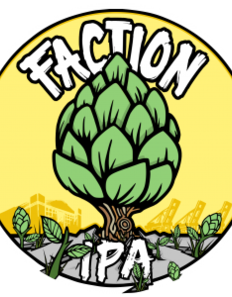 Faction Spring IPA  4 pack 16 oz