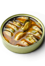 Conservas Gueyu Mar Chargrilled Mussels  5.3 oz