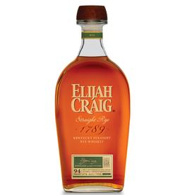 Elijah Craig Elijah Craig Straight Rye  750 ml
