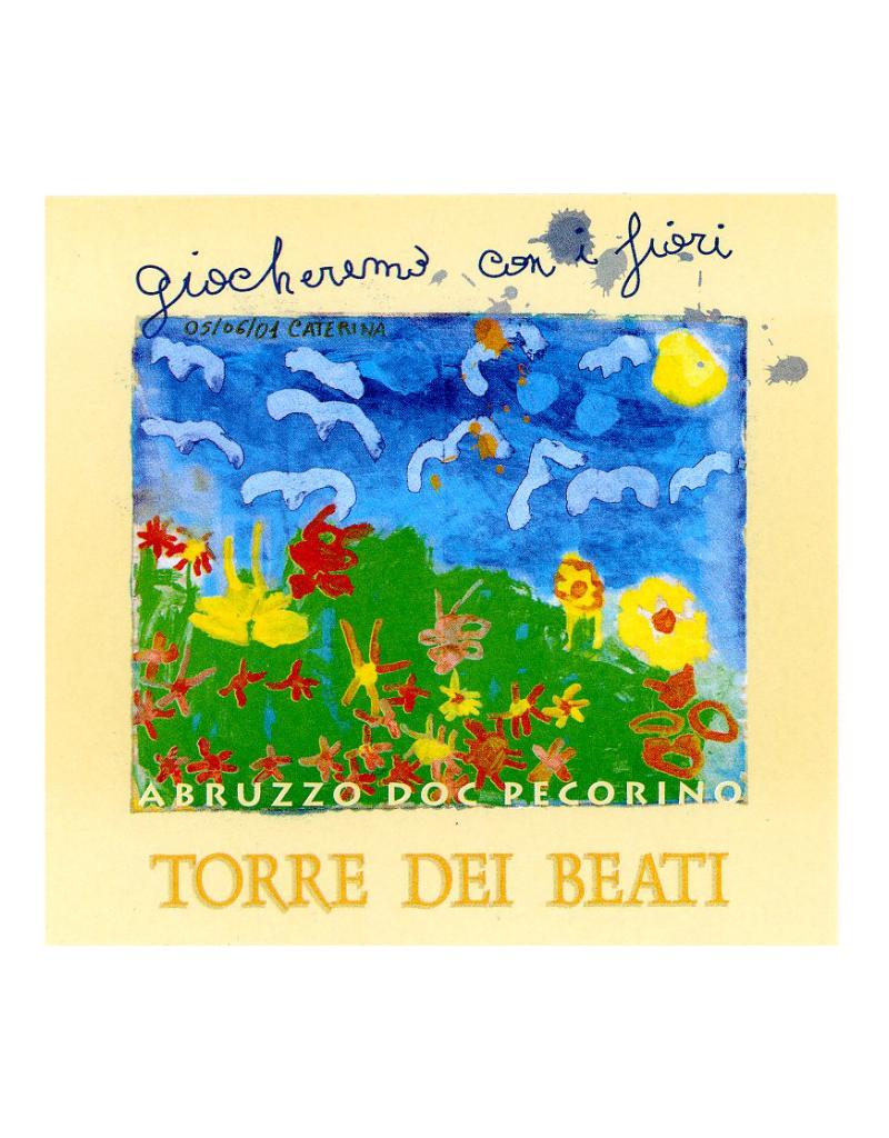 2019 Torre dei Beati Giochermo con i Fiori  Pecorino Abruzzo 750 ml