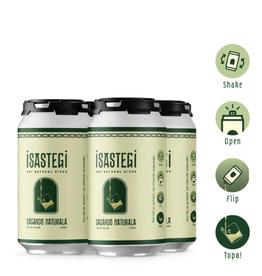 Isastegi 2020 Isastegi Sagardo Naturala Cider CAN 4 pack 330 ml