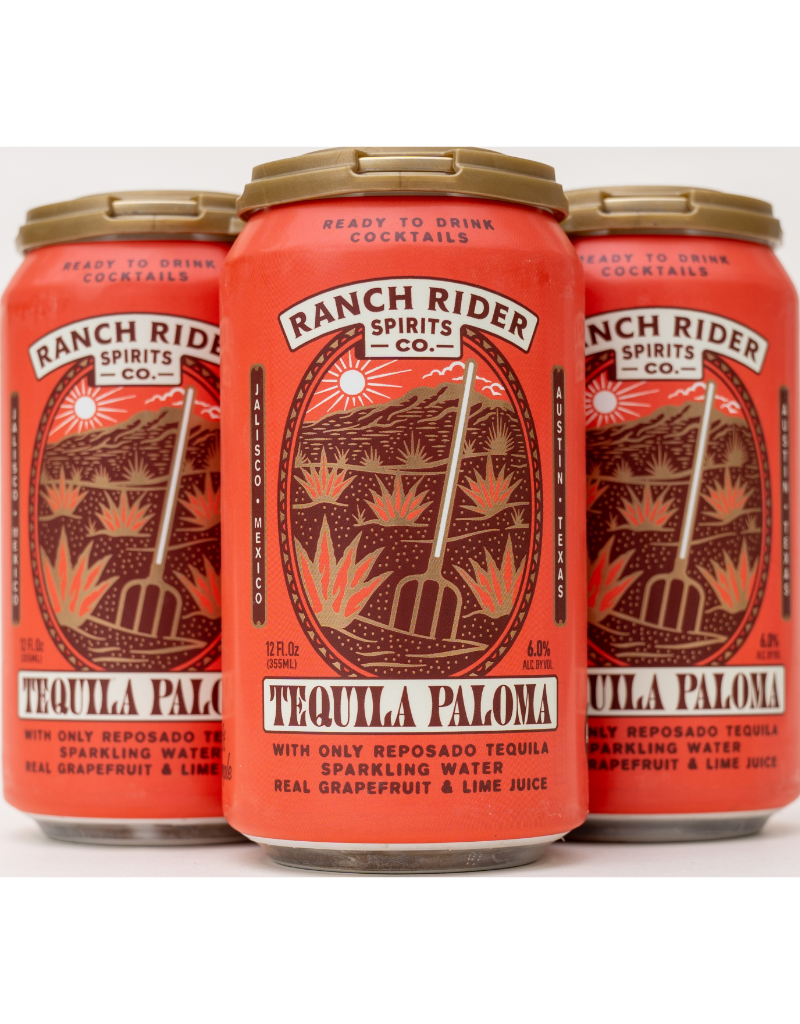 Ranch Rider Cocktails Paloma  4 Pack 12 oz