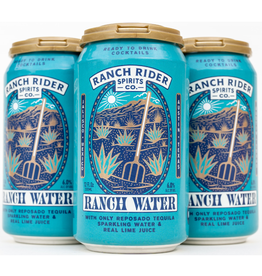 Ranch Rider Cocktails Ranch Water  4 Pack 12 oz