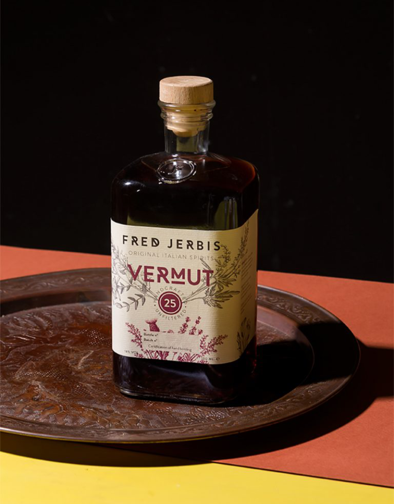 Fred Jerbis Vermouth 25 Rosso 750 ml