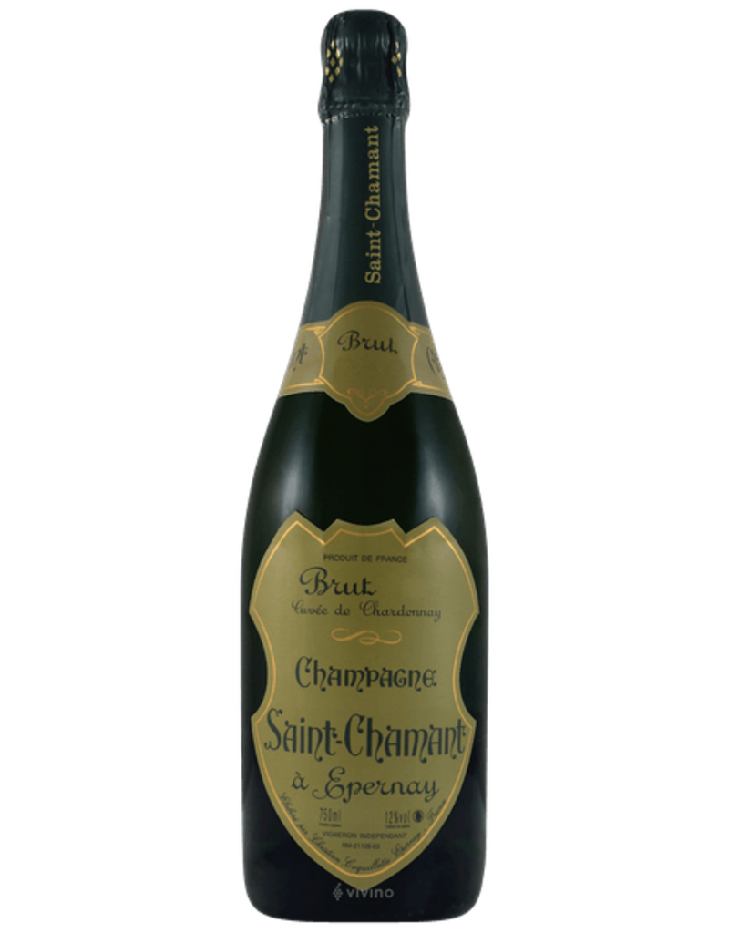 St. Chamant 2008 St. Chamant Champagne Brut Blanc de Blancs Epernay  750 ml