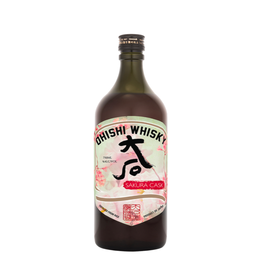 Ohishi Japanese Whisky Sakura Cask 750 ml