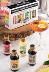 Nickel Dime Cocktail Syrup Sampler 4-Pack 2 oz
