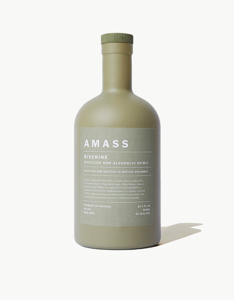 Amass Riverine Distilled Non-alcoholic Spirit 750 ml