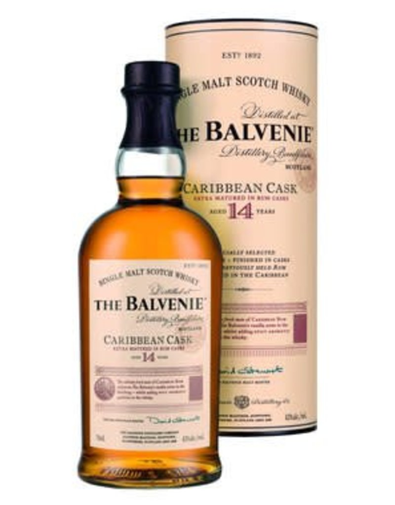 Balvenie Balvenie Caribbean Cask 14 year old Single Malt Scotch 750 ml