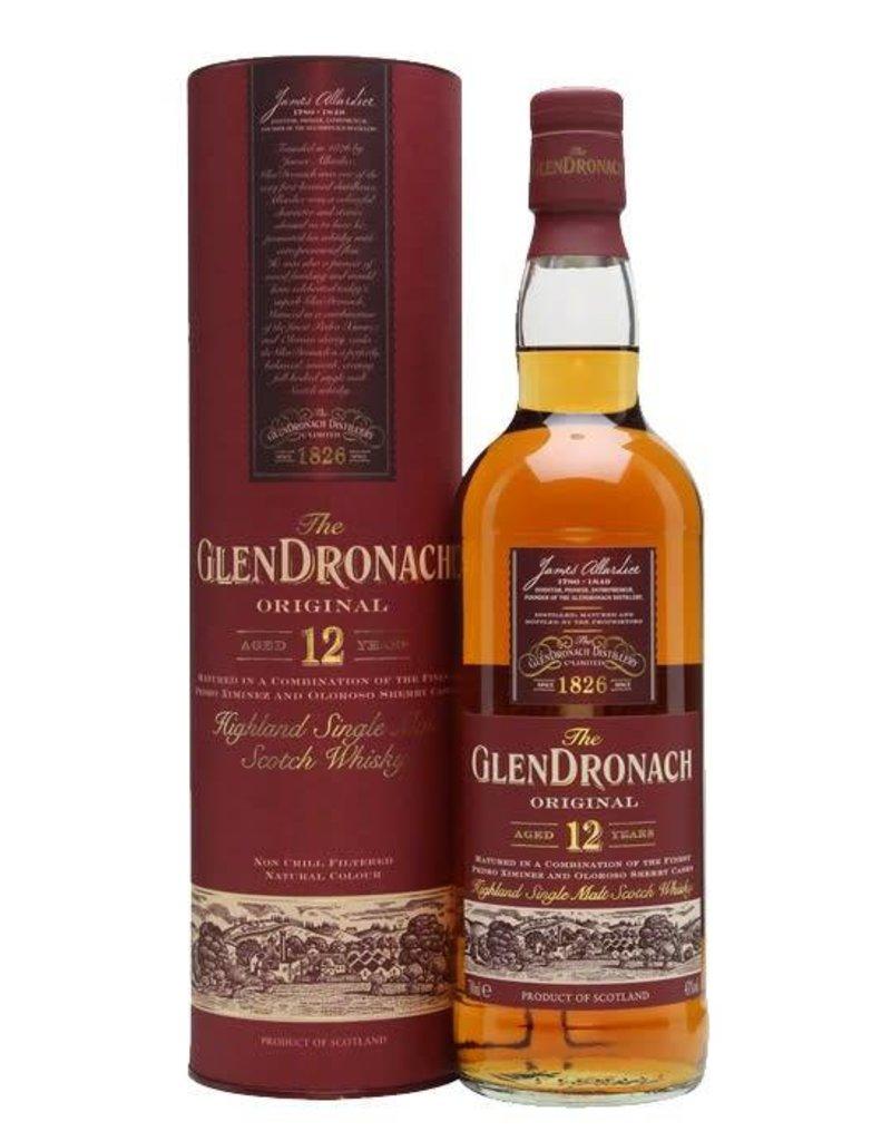 Glendronach Glendronach 12 year old Highland Single Malt Scotch  750 ml