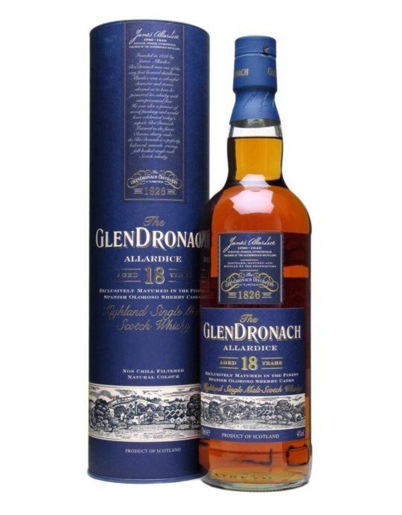 Glendronach Glendronach 18 year old Highland Single Malt Scotch  750 ml