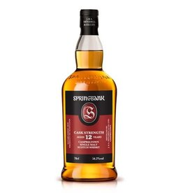 Springbank Springbank 12 year old Cask Strength Campbeltown Single Malt Scotch  750 ml