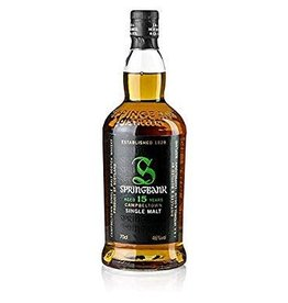 Springbank Springbank 15 year old Campbeltown Single Malt Scotch 750 ml
