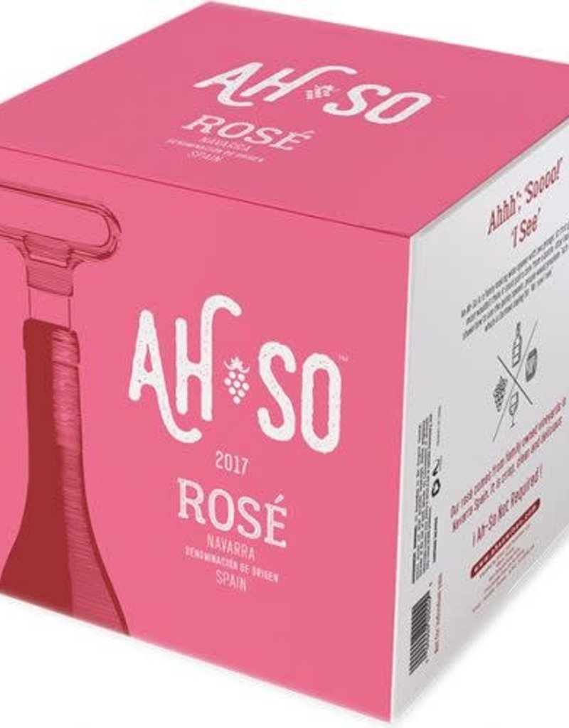 Ah-So Ah-So Rosé Navarra  4 pack 200 ml